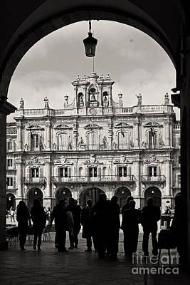 Photograph - Plaza Mayor Salamanca by Rudi Prott