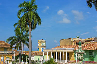 Trinidad House Photograph - Plaza Mayor, Trinidad, Unesco World by Keren Su