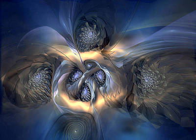 Digital Art - Pleasant Effusion by Casey Kotas