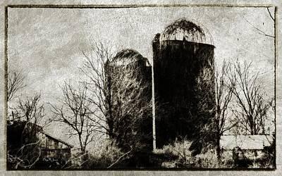 Photograph - Pleasant Hill Barns by Barry Jones