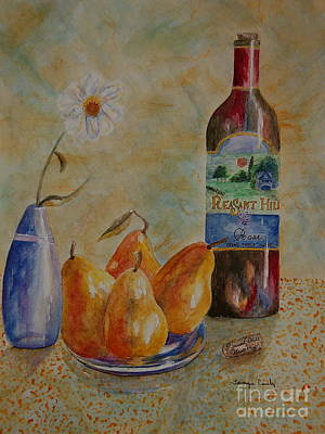 Painting - Pleasant Hill Winery by Tamyra Crossley