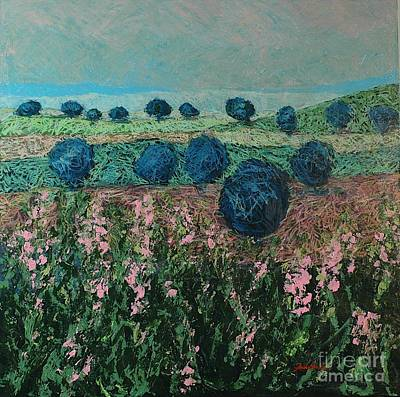 Pleasant Meadows Art Print by Allan P Friedlander