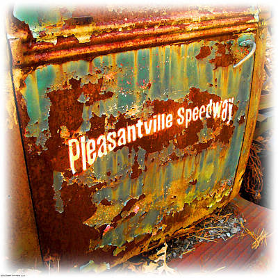 Digital Art - Pleasantville Speedway by K Scott Teeters