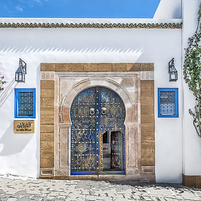 Sidi Bou Said Photograph - Please Come In by Maria Coulson