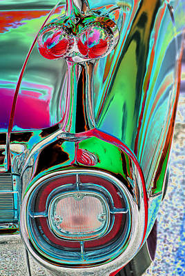 Pink Hot Rod Photograph - Please Don't Leave Me..i Love You Baby by Miki  Finn