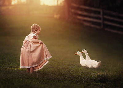 Duck Photograph - Pleased To Meet You by Annie Whitehead