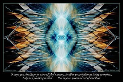 Digital Art - Pleasing To God by Missy Gainer