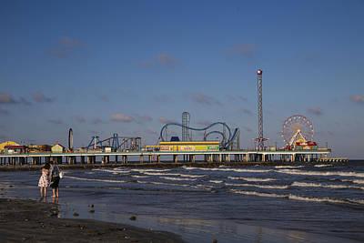 Photograph - Pleasure Pier At Sunset by John McGraw