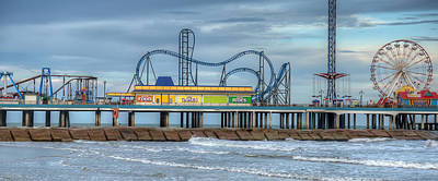 Photograph - Pleasure Pier by Gregory Cox