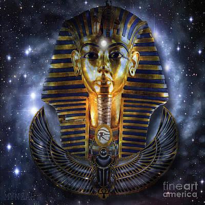 Digital Art - Pleiadian Past by Mynzah Osiris