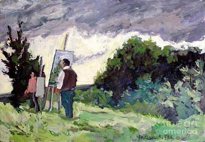 Plein Air Painters Association Art Print by Charlie Spear