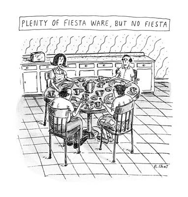 Plenty Of Fiesta Wear Art Print