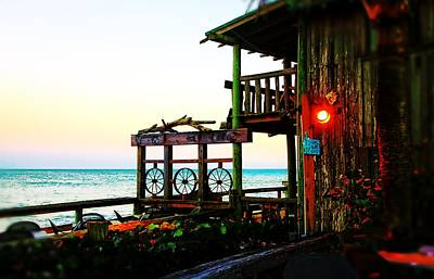 Restaurant Photograph - Plenty Of Woods And Ocean by Richard Hemingway