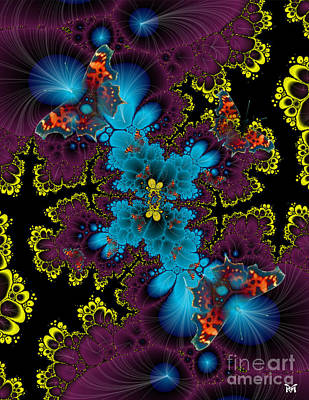 Digital Art - Plethora by Maria Watt