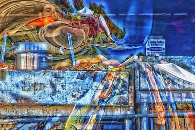 Photograph - Plexi Reflexi Image Art by Jo Ann Tomaselli