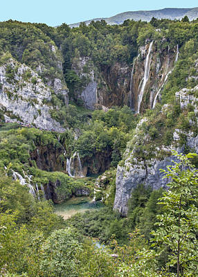Photograph - Plitvice Lakes - Croatia by Alan Toepfer