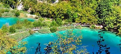 Plitvice Lakes Croatia Art Print