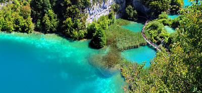 Plitvice Lakes National Park Art Print