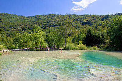 Photograph - Plitvice Lakes National Park Waters by Brch Photography