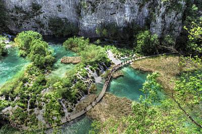 Curves Photograph - Plitvice National Park by Ivan Slosar