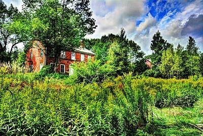 Photograph - Plott Road Farmhouse by John Nielsen