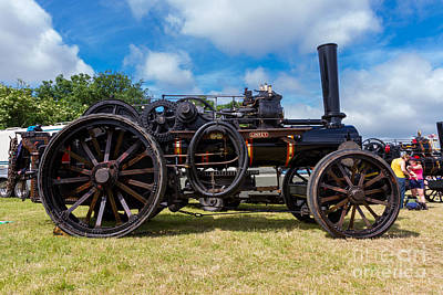 Ploughing Engine  Print by Christopher Kelly