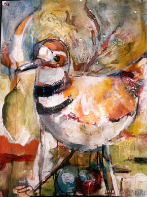 Painting - Plover by Kenson
