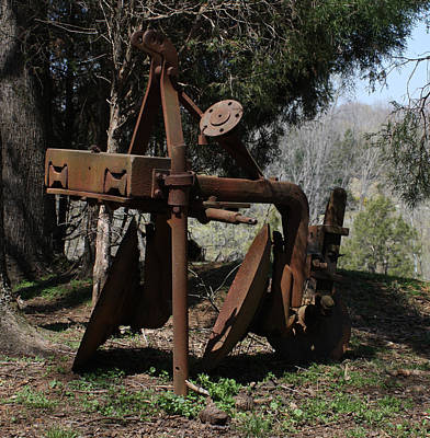 Photograph - Plow by Lee Hartsell