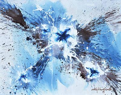 Painting - Pluie Sur Moi by Craig T Burgwardt