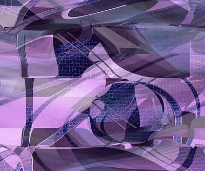 Digital Art - Plum Color - Purple by rd Erickson