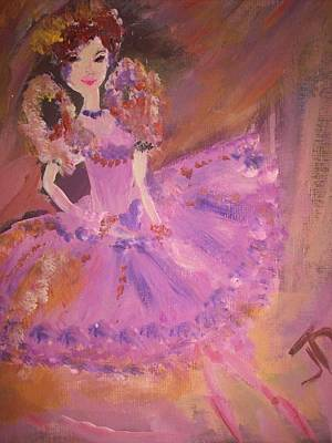 Plum Fairy Art Print