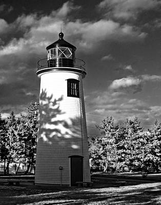 Plum Island Light 01 Art Print