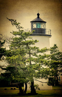 Coastguard Photograph - Plum Island Light by Joan Carroll