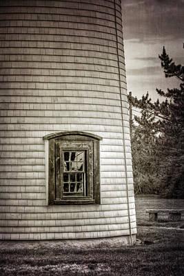 Coastguard Photograph - Plum Island Window by Joan Carroll