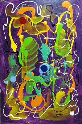 Plum Wild Art Print by Bill Herold