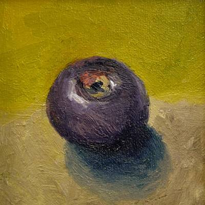 Painting - Plum With Olive And Taupe by Michelle Calkins