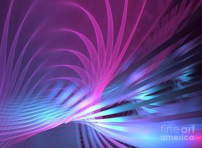 Kim Digital Art - Plumage by Kim Sy Ok