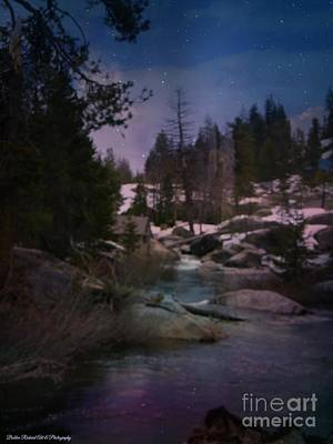 Photograph - Plumas River In Sierras by Bobbee Rickard