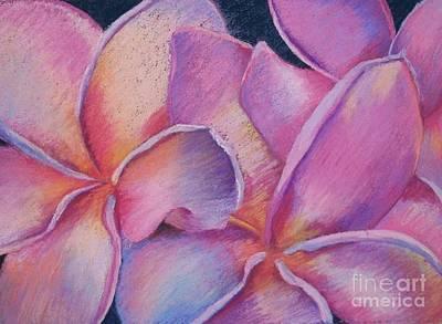 Painting - Plumeria 2 by Susan M Fleischer