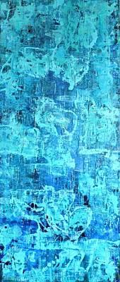 Painting - Plunge by Elizabeth Langreiter
