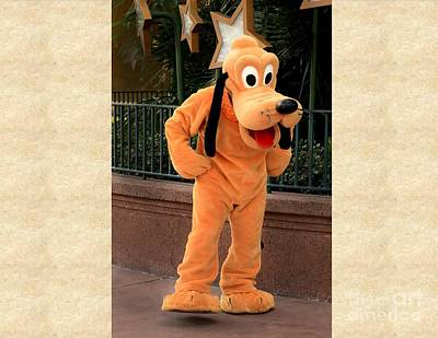 Disney Character Photograph - Pluto by Arnie Goldstein