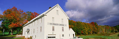 Plymouth Cheese Corporation In Autumn Art Print