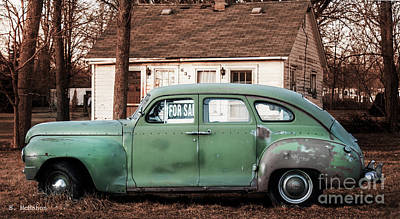 Photograph - Plymouth Family Automobile by Barbara McMahon