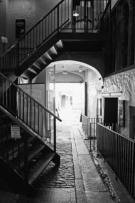 Plymouth Gin Distillery - Bw Original by Michael Hope