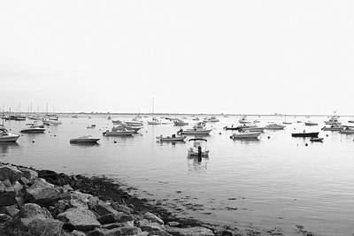 Art Print featuring the photograph Plymouth Harbor by John Hoey