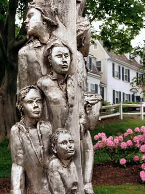 Photograph - Plymouth Immigrant Memorial by Janice Drew