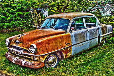 Photograph - Plymouth Savoy by Sonya Lang