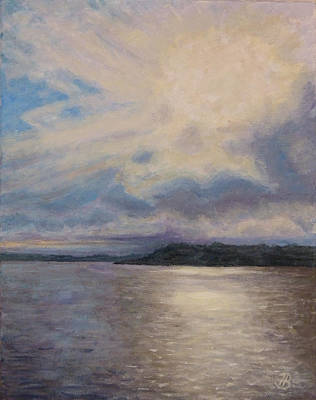 Painting - Plymouth Uk Harbor by Joe Bergholm