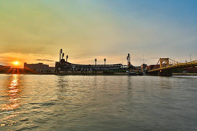 Andrew Mccutchen Photograph - Pnc Park by Jimmy Taaffe