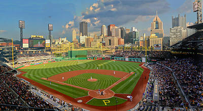 Pnc Park Pittsburgh Art Print by Gary Cain